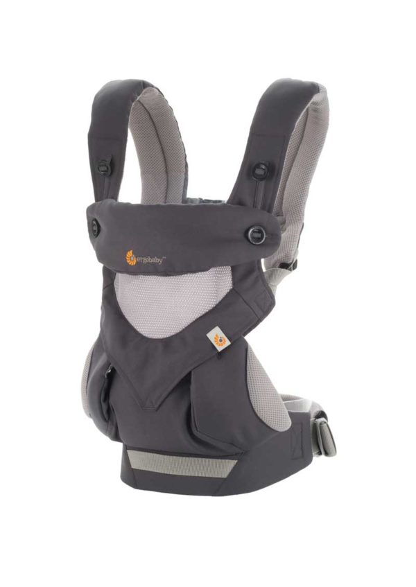 Mochila Portabebé 360 Cool Air Gris Carbón
