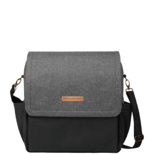 Boxy Backpack – Graphite/Black