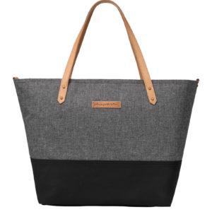 Downtown Tote – Graphite/Black
