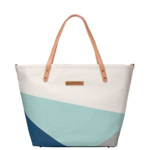 Downtown Tote – Birch/Fjord
