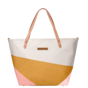 Downtown Tote – Birch/Macaroon