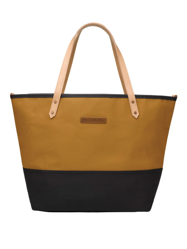 Downtown Tote – Caramel/Black