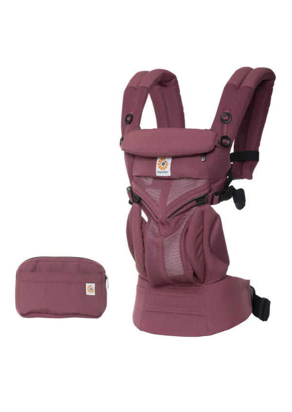 Mochila Portabebé Omni 360 Cool Air Plum